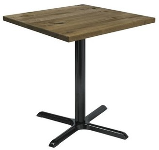 "LOFT Kfi KFI Urban 30"" Square Vintage Wood Breakroom Table, Natural"