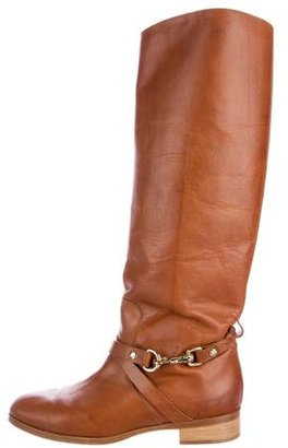 Mulberry Dorset Knee-High Boots $230 thestylecure.com