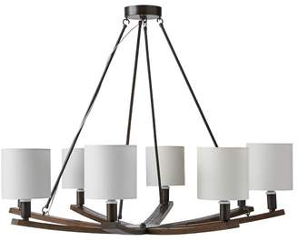 Williams-Sonoma Rob and Lydia Mondavi Wine Barrel Stave Chandelier