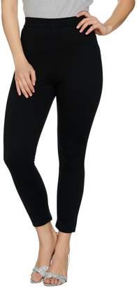 Lisa Rinna Collection Regular Knit Cropped Pants