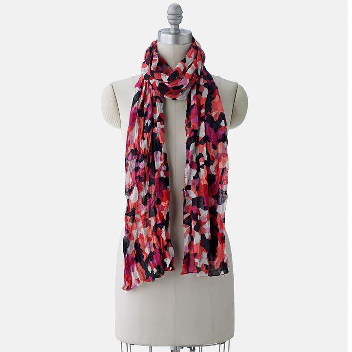 Apt. 9® floral mosaic scarf