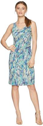 Nic+Zoe Petite Mirage Twist Dress Women's Dress