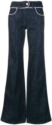 Moschino flared jeans