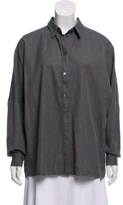 Acne Studios Oversize Button-Up Top
