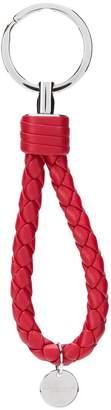 Bottega Veneta logo pendant keyring
