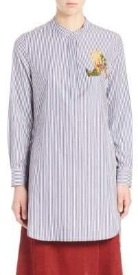 ADAM by Adam Lippes Striped Cotton Shirt