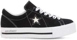 Converse X Mademe Mademe One Star Suede Platform Sneakers