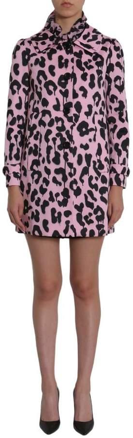 Leopard Printed Coat
