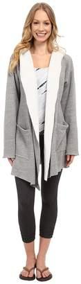 Hard Tail Slouchy Wrap Hoodie Jacket Women's Sweatshirt