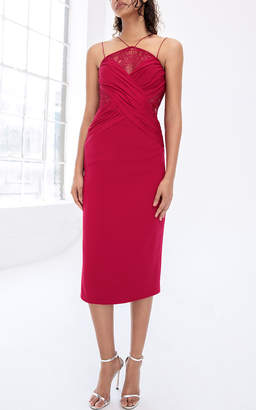 Cushnie et Ochs Palma Midi Dress
