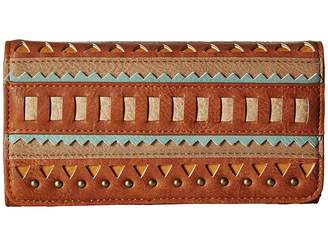 American West El Dorado Flap Wallet