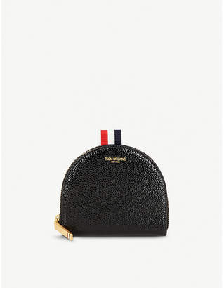 Thom Browne Pebbled leather coin purse