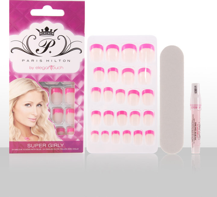 Paris Hilton by Elegant Touch Super Girly Nails