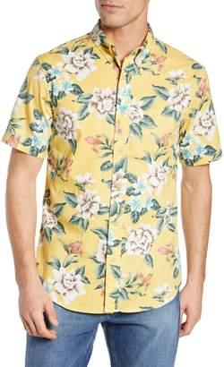 Reyn Spooner Hou Pua Nui Regular Fit Sport Shirt