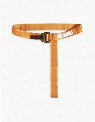 Heron Preston Logo jacquard webbing belt