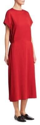 The Row Cyde Silk Midi Dress