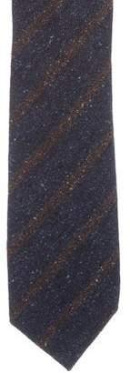 Luciano Barbera Wool-Blend Striped Tie w/ Tags
