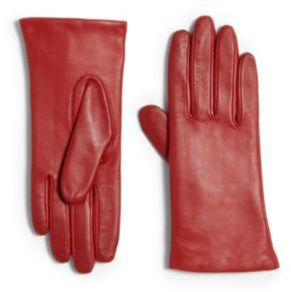 Grandoe Tech Leather Gloves $98 thestylecure.com
