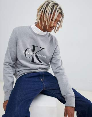 Calvin Klein bold chest print sweater
