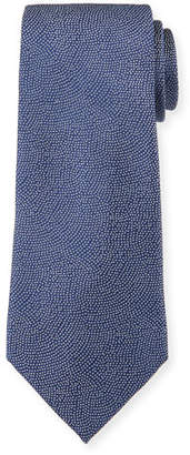 Giorgio Armani Men's Small-Dot Woven Jacquard Tie, Royal