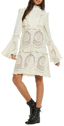 Scotch & Soda Bell-Sleeve Poet Dress $248 thestylecure.com