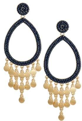 Rebecca Minkoff Riley Beaded Drop Earrings