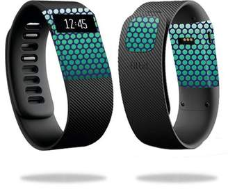 Fitbit Mightyskins MightySkins Protective Vinyl Skin Decal for Charge Watch cover wrap sticker skins Black Argyle