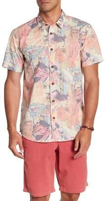 O'Neill Babewatch Short Sleeve Print Modern Fit Shirt