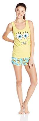 Briefly Stated Women's Cotton Knit Comfy Pajama Set