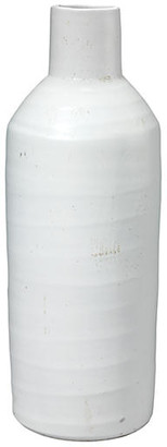 Jamie Young Dimple Vase - White