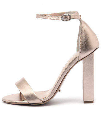 Tony Bianco New Kashmir Rose Gold Womens Shoes Dress Sandals Heeled