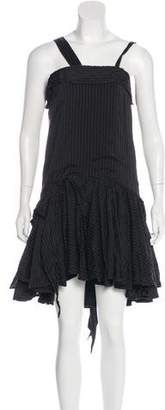 Karen Walker Sleeveless Pleated Dress