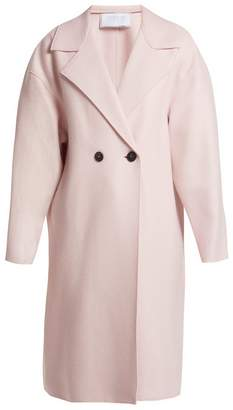 Harris Wharf London Dropped-shoulder pressed-wool coat