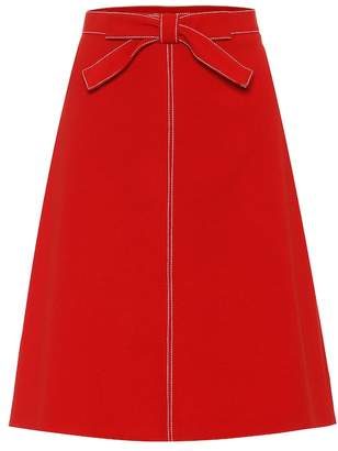RED Valentino Crepe skirt