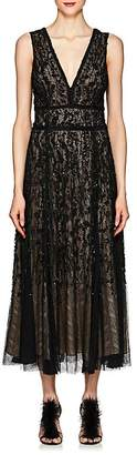 J. Mendel Women's Embellished Silk Cocktail Gown