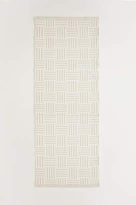 H&M Jacquard-weave Cotton Rug - Beige