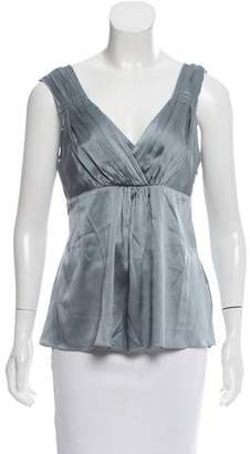 Magaschoni Silk Sleeveless Top