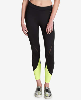 DKNY (ディー ケー エヌワイ) - Dkny Sport Mid-Rise Colorblocked Leggings