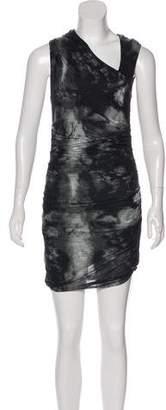 Helmut Lang Tie-Dye Midi Dress