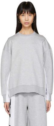 Stella McCartney Grey All Is Love Side Ribbon Sweatshirt