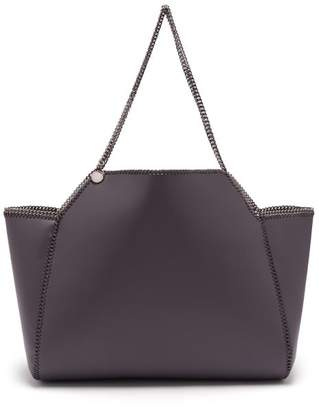 Stella McCartney Falabella Faux Leather Tote Bag - Womens - Grey