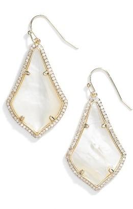 Women's Kendra Scott Alex Pave Drop Earrings $85 thestylecure.com