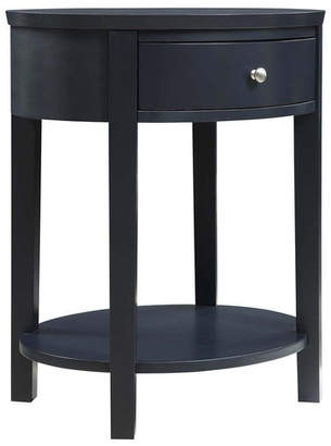 Three Posts Canterbury End Table with Storage