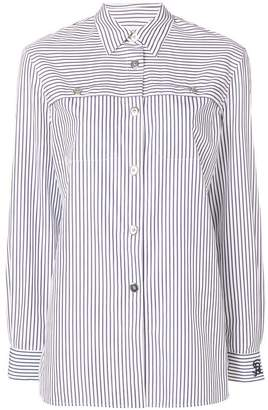 Sonia Rykiel striped button shirt
