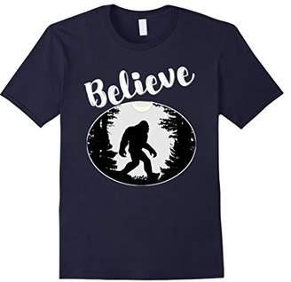 Believe Bigfoot Sasquatch Funny Humor Gift Shirt