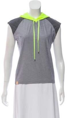 Monreal London Sleeveless Hooded Sweatshirt