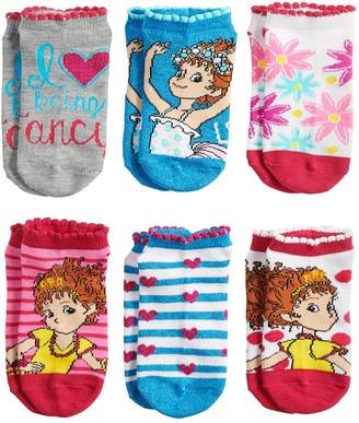 Disney Disney's Fancy Nancy Girls 4-8 No-Show Socks