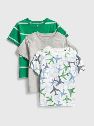 Gap Pocket Short Sleeve T-Shirt (3-Pack)
