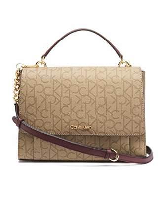 Calvin Klein Hudson Signature Top Handle Satchel