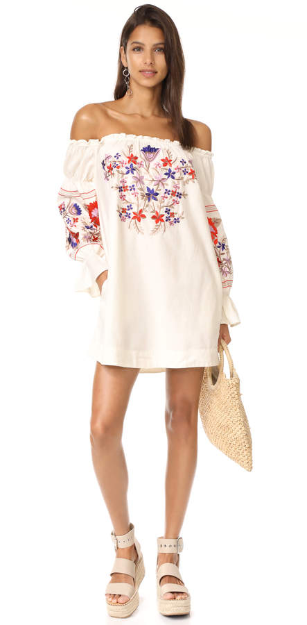 Free People Fleur Du Jour Mini Dress 7